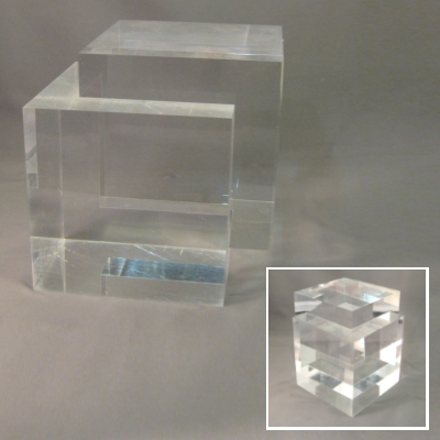 Acrylic (plexiglass) Sculpture/Display stand