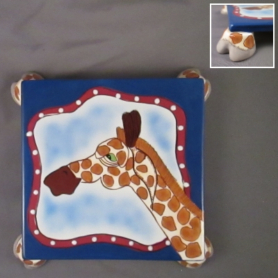 Hager the Giraffe footed trivet