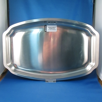 Selandia 18/8 stainless oval tray