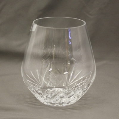 Shannon Crystal stemless wine glass