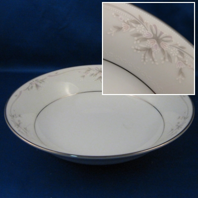 Noritake Silk Ribbons soup bowl