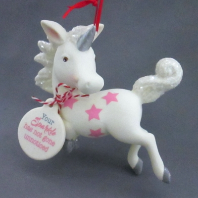 Unicorn ornament - Your Sparkle Has Not Gone Unnoticed - Click Image to Close