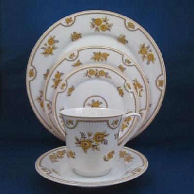 Spode Austen 5 piece place setting