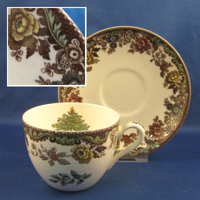 Spode Christmas Tree Grove cup & saucer