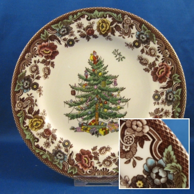 Spode Christmas Tree Grove salad plate