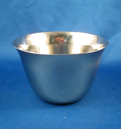 Unknown stainless sugar bowl no lid