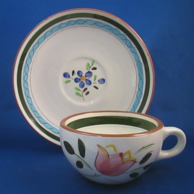 Stangl Country Garden cup & saucer