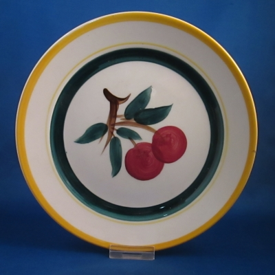 Stangl Fruit (white background) salad plate