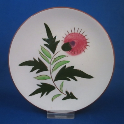 Stangl Thistle bread & butter plate