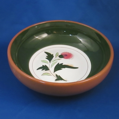 Stangl Thistle round vegetable bowl