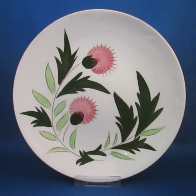 Stangl Thistle salad plate