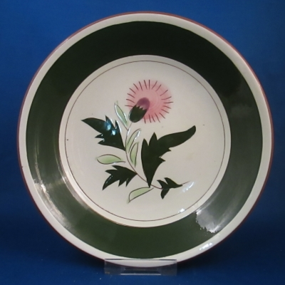 Stangl Thistle soup bowl