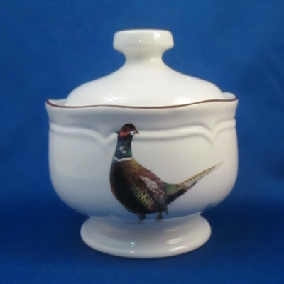Stanhome Pheasant sugar with lid