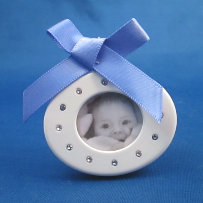 Baby Picture Frame - Blue (boy)