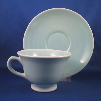 TS&T Luray Pastels-Green cup & saucer