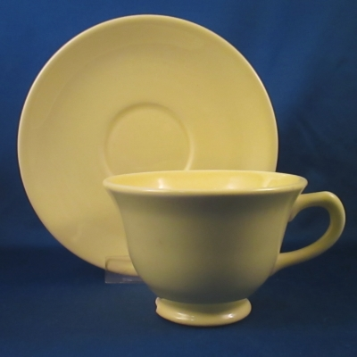 TS&T Luray Pastels-Yellow cup & saucer