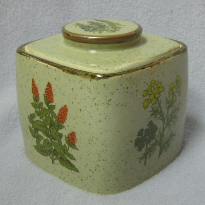 "Takahashi 5"" stoneware canister - Click Image to Close"
