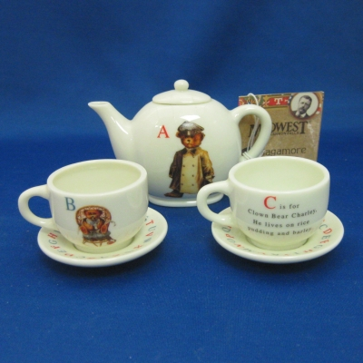 Teddy Bear Alphabet children's tea set (6 pc)