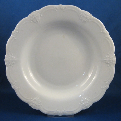 Hutschenreuther Baronesse White rimmed soup bowl
