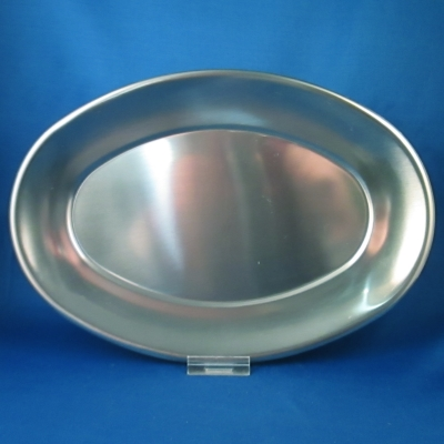 Unknown stainless oval tray
