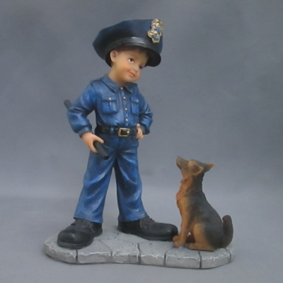 Patrol Recruit (police officer with dog)