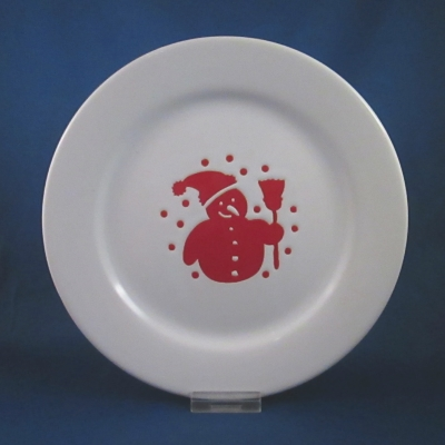 Waechtersbach George salad plate (new design/with broom)