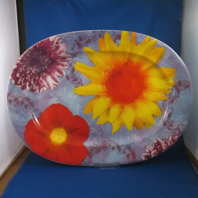 Waechtersbach Petal Power oval platter