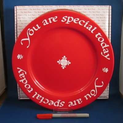 Waechtersbach You Are Special Today dinner plate