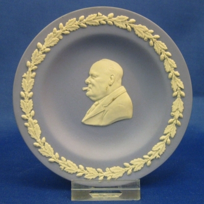 Wedgwood Cc on Lavender Personality Round Tray - Churchill