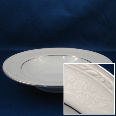 Noritake Whitecliff Platinum fruit bowl