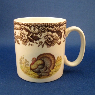 Spode Woodland Turkey mug