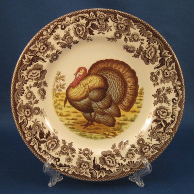 Spode Woodland - Turkey - salad plate