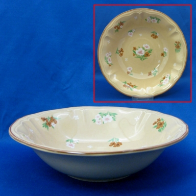 Yamaka Auberge - Brown round vegetable bowl