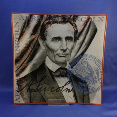 Abe Lincoln plates