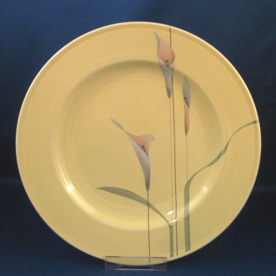 Opus Yellow dinner and salad plates