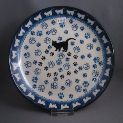 Polish Pottery Cat and Dog Patterns