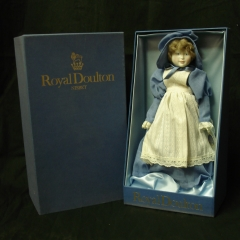 "Royal Doulton-Nisbet ""Days of the Week"" Dolls"
