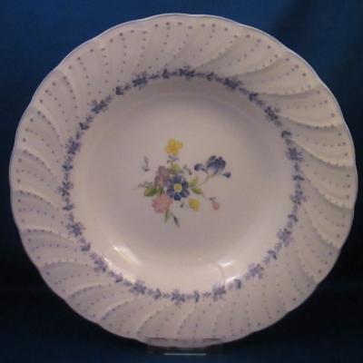 Nikko Blue Peony Rimmed Soup Bowl