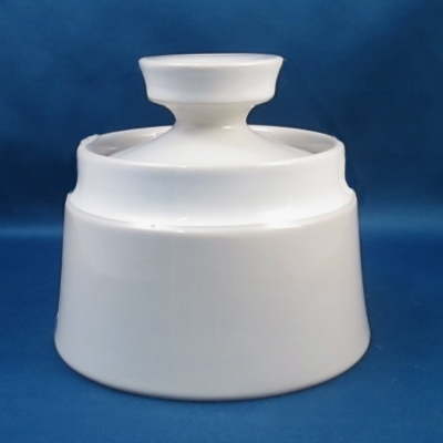 Noritake Floral Frost sugar bowl with lid