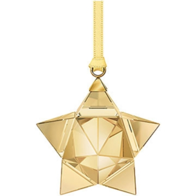 Star Ornament Gold Tone, small