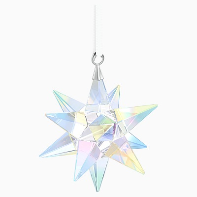 Star Ornament, Crystal, AB