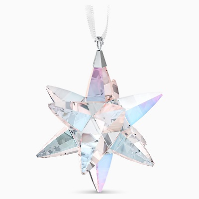 Star Ornament, Shimmer, Medium